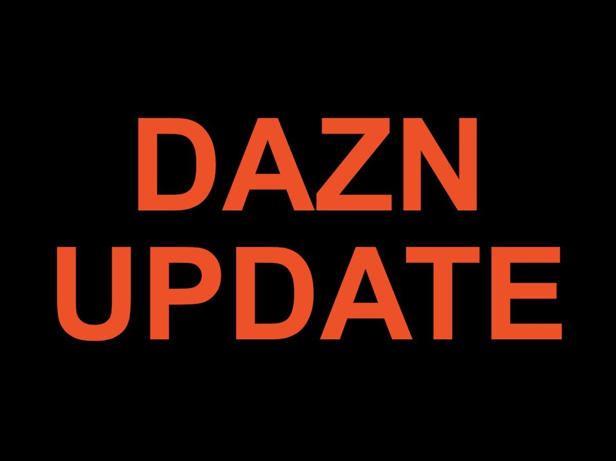 DAZNアプリ更新で画質が安定