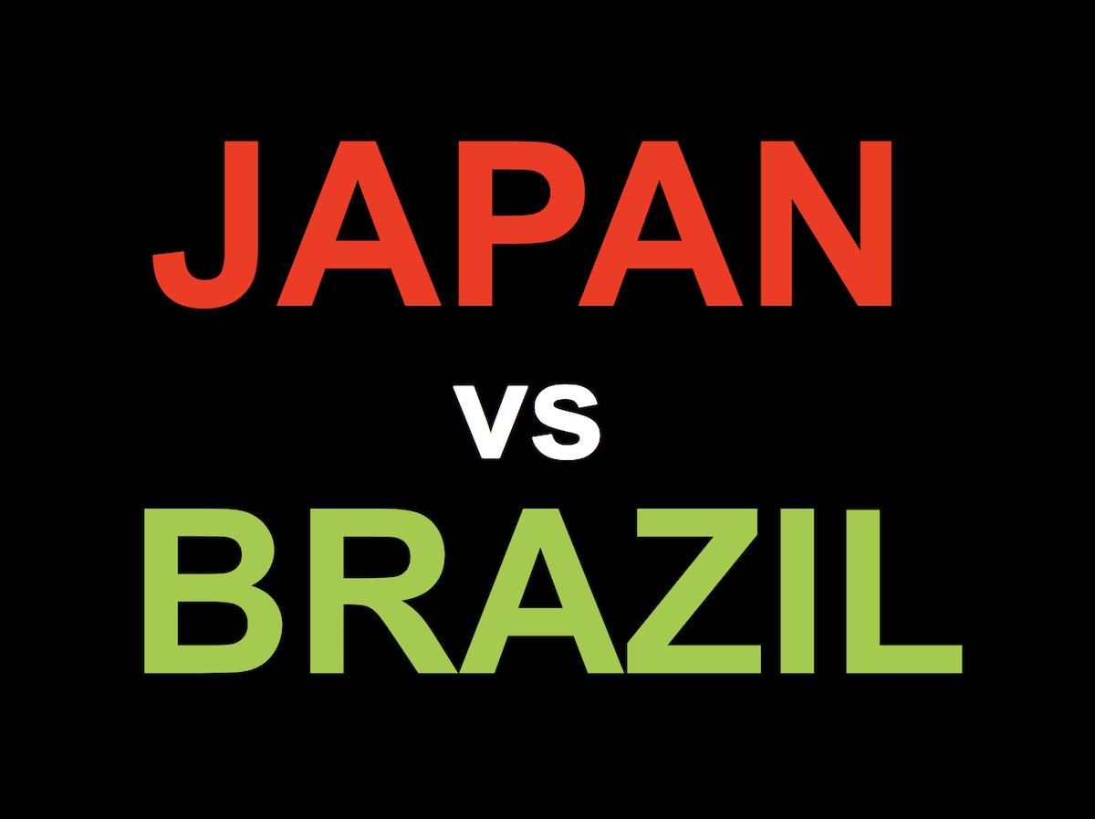サッカー国際親善試合 日本 vs ブラジル