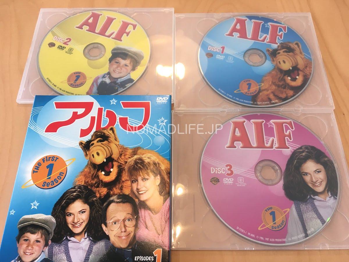 アルフ DVD